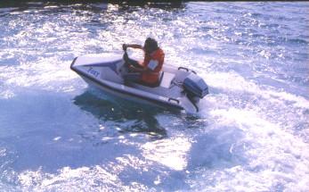 FOXY motor boat
