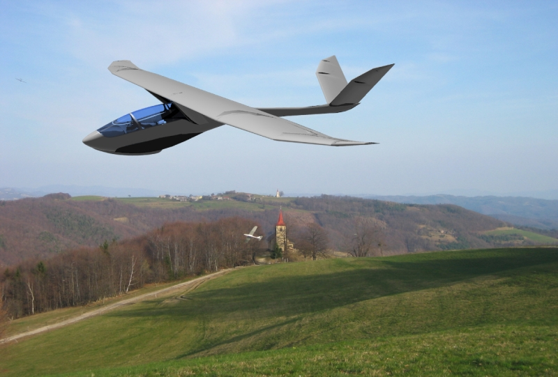 ultralight flying machine